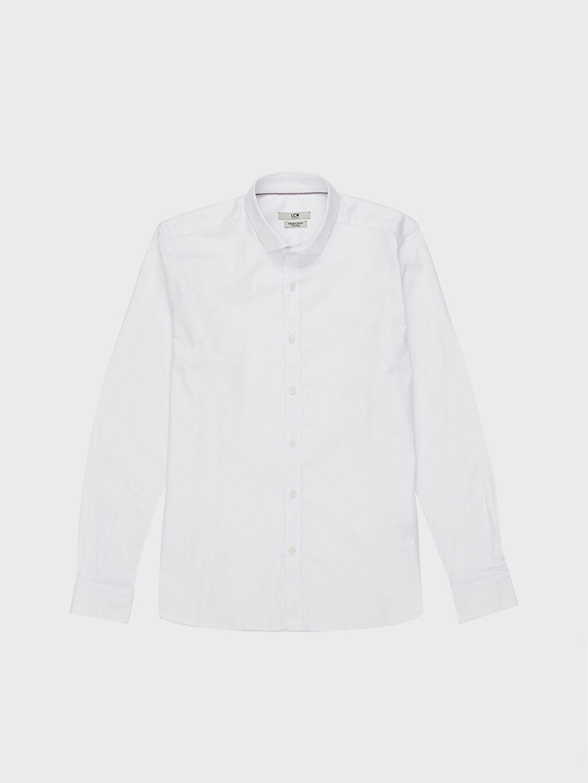 LC Waikiki Beyaz Slim Fit Oxford Gömlek