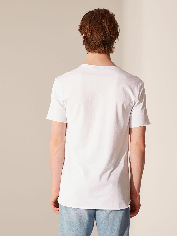 Erkek Overlong Basic Tişört
