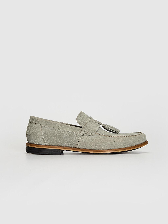 Gri Erkek Loafer Ayakkabı 0SC942Z8 LC Waikiki