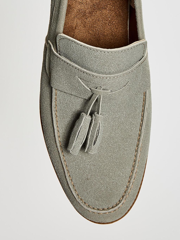 LC Waikiki Gri Erkek Loafer Ayakkabı