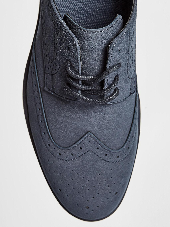 LC Waikiki Lacivert Erkek Bağcıklı Klasik Ayakkabı