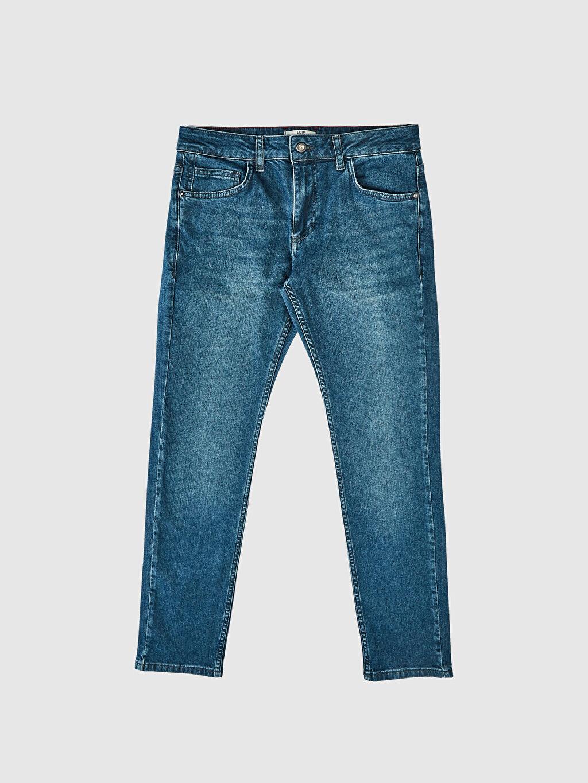 LC Waikiki Yeşil 750 Slim Fit Jean Pantolon