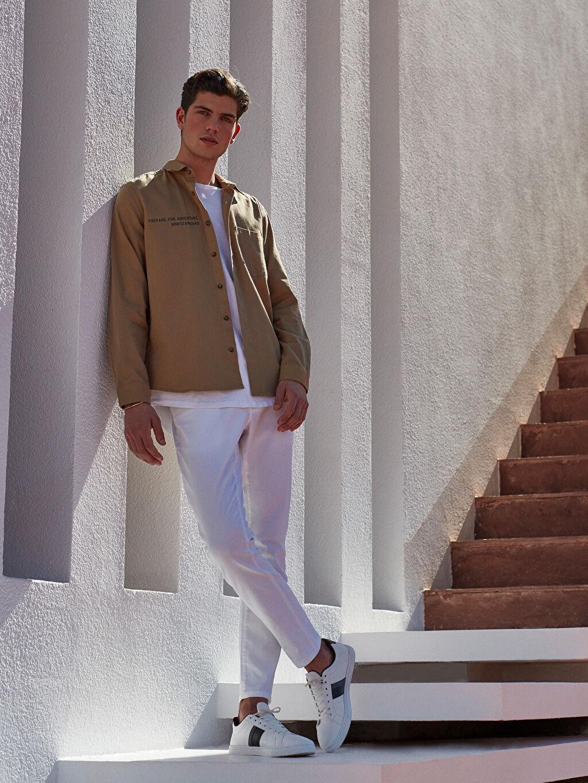 Beyaz 760 Skinny Fit Jean Pantolon 0SR134Z8 LC Waikiki