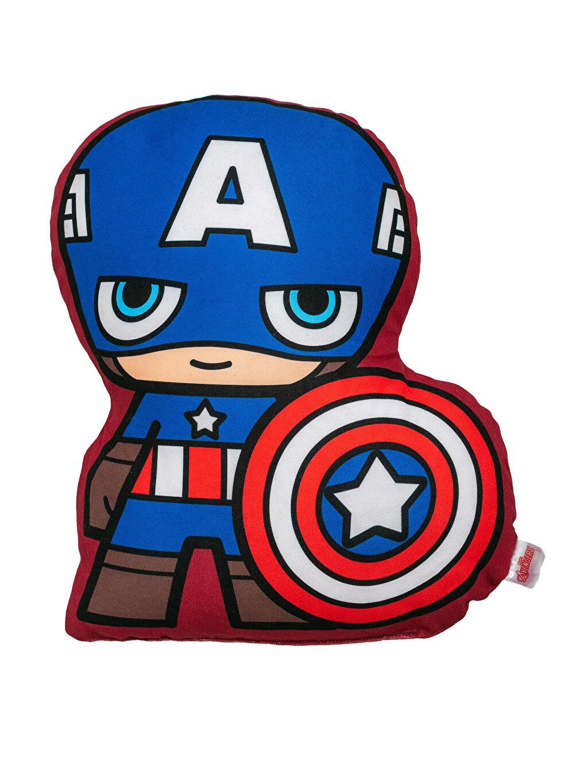 Kaptan Amerika Lisanslı Dolgulu Kırlent