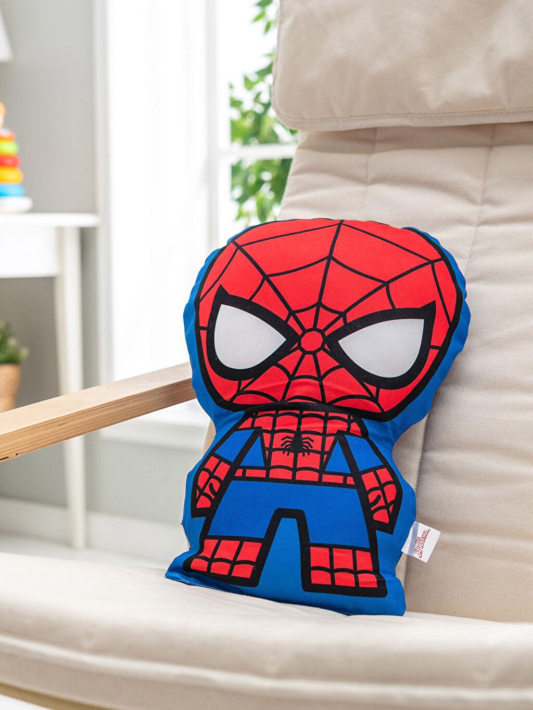 Çok Renkli Spiderman Lisanslı Dolgulu Kırlent 0SU923Z4 LC Waikiki