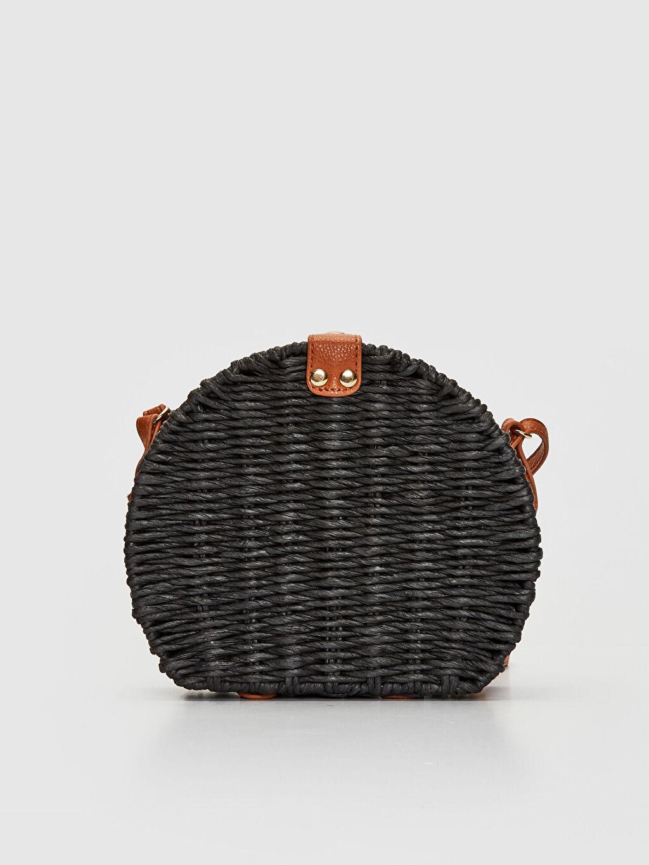 Hasır Çanta Çapraz Çanta Hasır Omuz Çantası