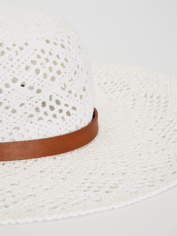 %100 Kağıt Şapka Hasır Hasır Fötr Şapka