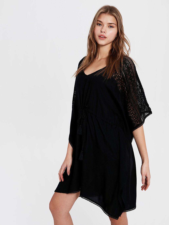 Kadın Dantel Salaş Elbise