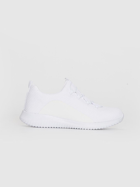 Beyaz Kadın Slip On Aktif Spor Ayakkabı 0S5183Z8 LC Waikiki
