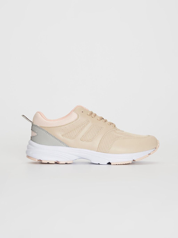 Bej Kadın Yürüyüş Spor Ayakkabı 0S5420Z8 LC Waikiki