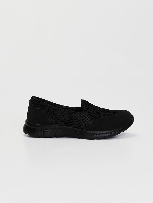 Siyah Kadın Slip On Aktif Spor Ayakkabı 0S7739Z8 LC Waikiki