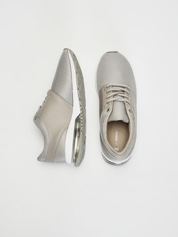 %90 Polyester %10 Poliüretan %100 Polyester  Kadın Air Taban Günlük Spor Ayakkabı