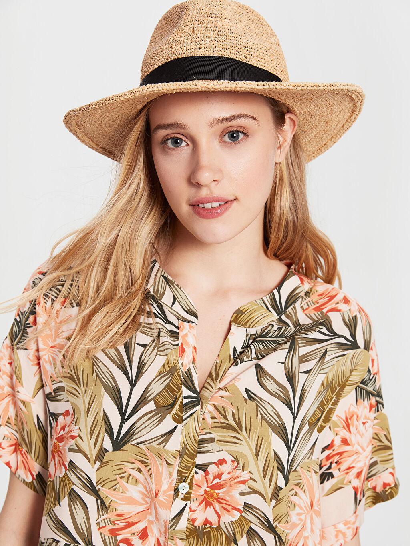 Kadın Çiçek Desenli Viskon Elbise