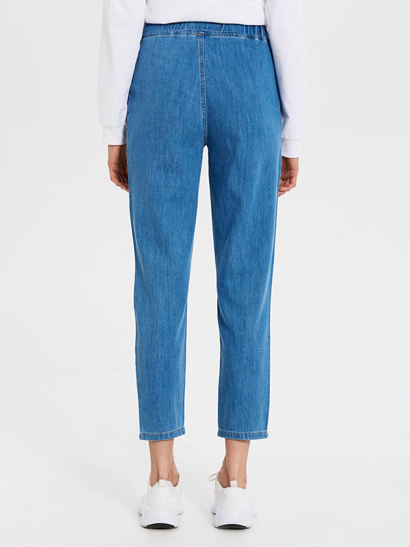 Kadın Normal Bel Bol Jean