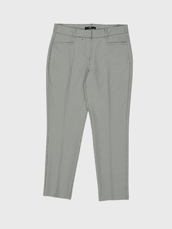 %92 Polyester %8 Elastan Bilek Boy Cigarette Kumaş Pantolon