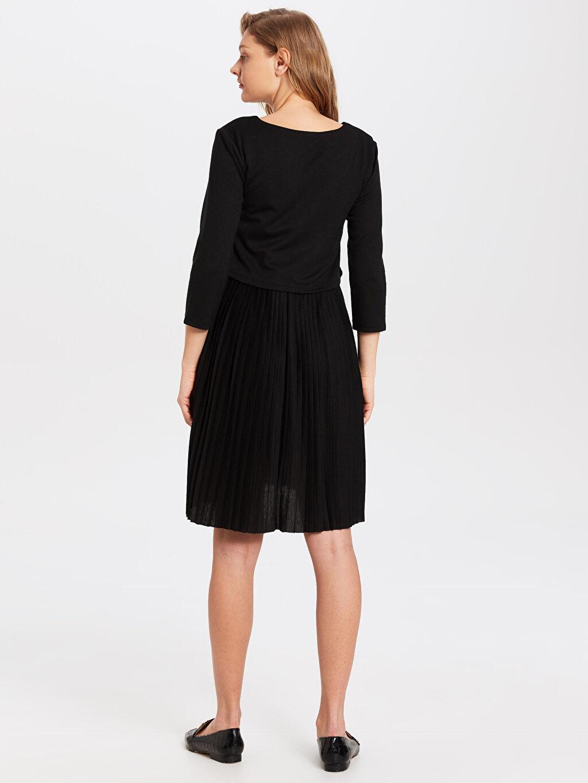 Kadın Hamile Viskon Elbise