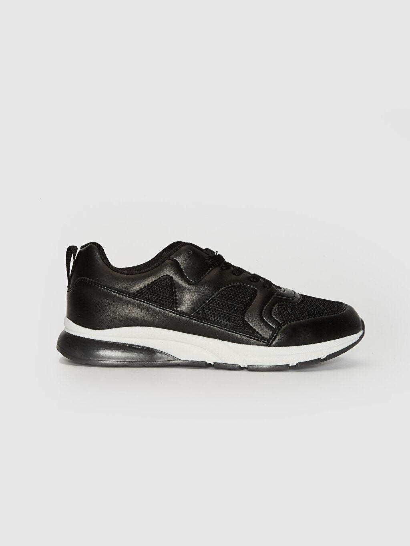 Siyah Kadın Kalın Taban Günlük Spor Ayakkabı 0SM869Z8 LC Waikiki