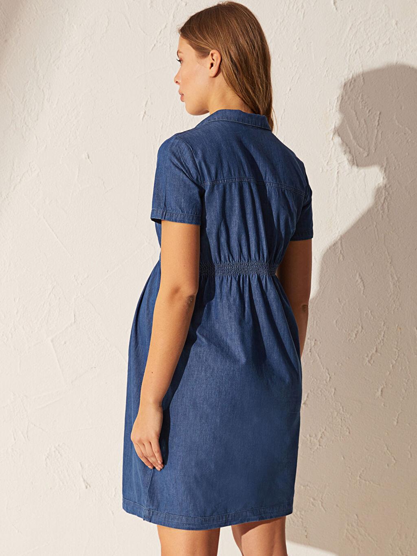 Kadın Jean Hamile Elbise