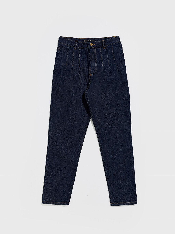 İndigo Bilek Boy Havuç Pantolon 0SR472Z8 LC Waikiki