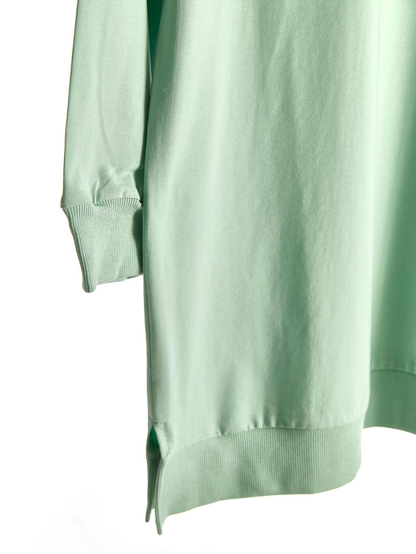 Kadın Düz Salaş Sweatshirt