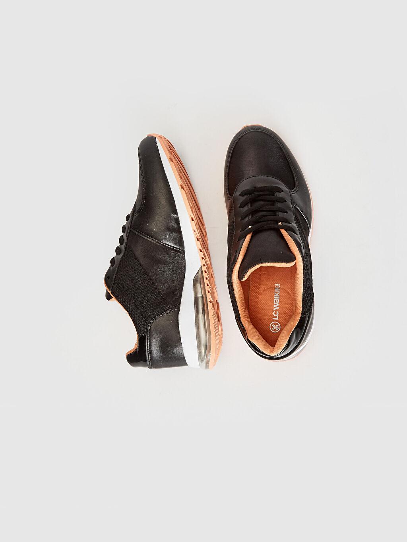 %0 Diğer malzeme (poliüretan) %0 Tekstil malzemeleri (%100 poliester)  Kadın Air Taban Günlük Spor Ayakkabı