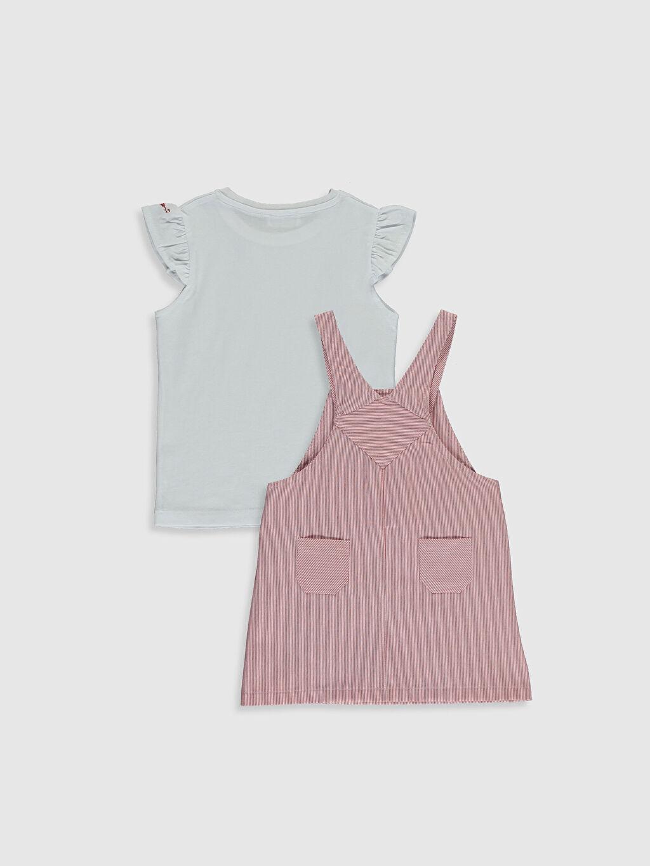 Tulum Luggi Baby Kız Bebek Tişört ve Salopet