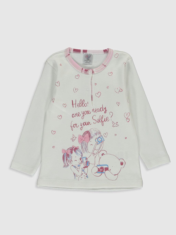 Kız Bebek Luggi Baby Kız Bebek Desenli Pijama Takımı