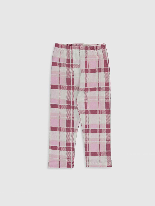 Luggi Baby Kız Bebek Desenli Pijama Takımı