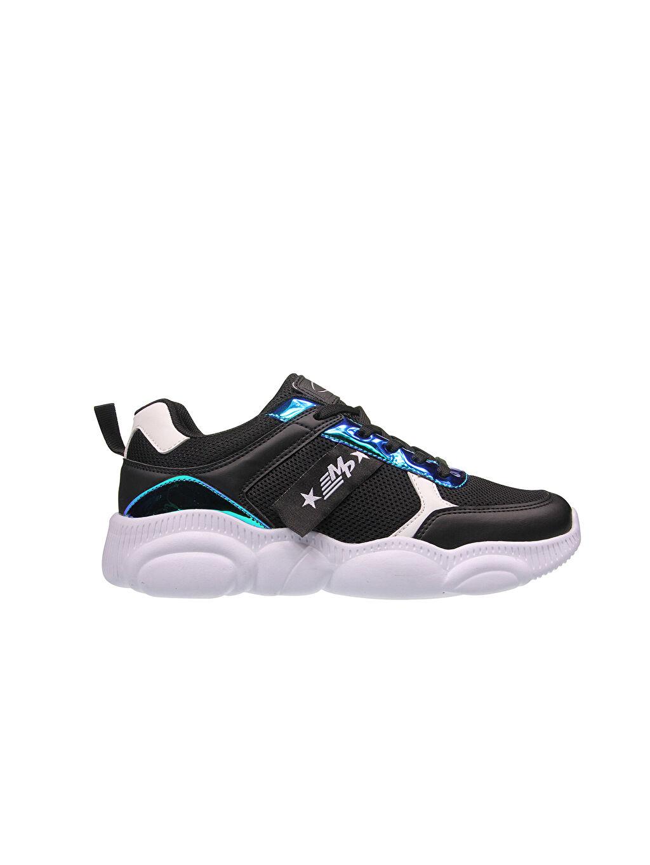 Siyah Mp Kadın Bağcıklı Spor Ayakkabı 0SAJ70Z8 LC Waikiki