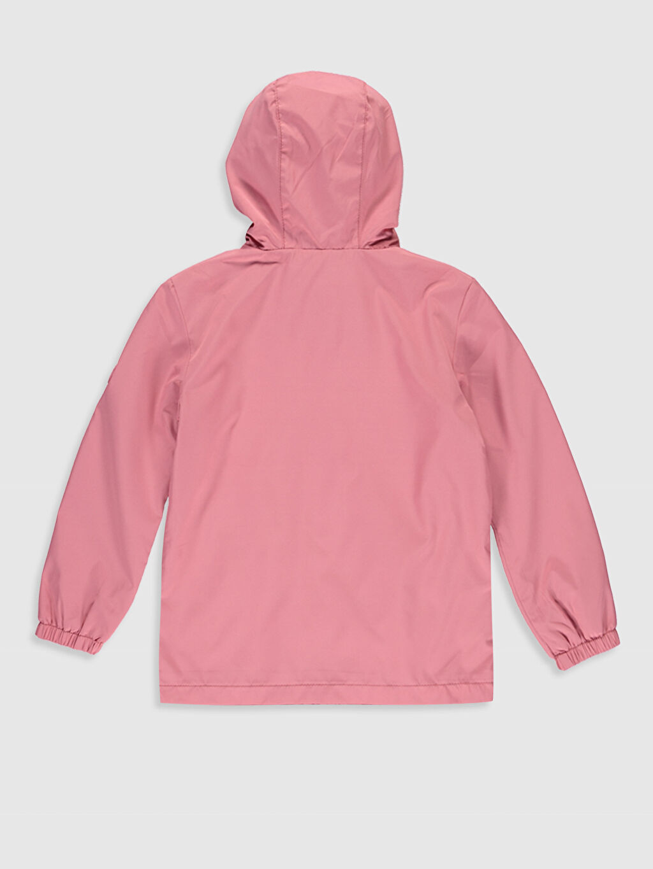 %100 Polyester  %99 Pamuk %1 Viskoz İnce Kapüşonlu Düz Mont Penye Astar Kız Çocuk Kapüşonlu İnce Mont