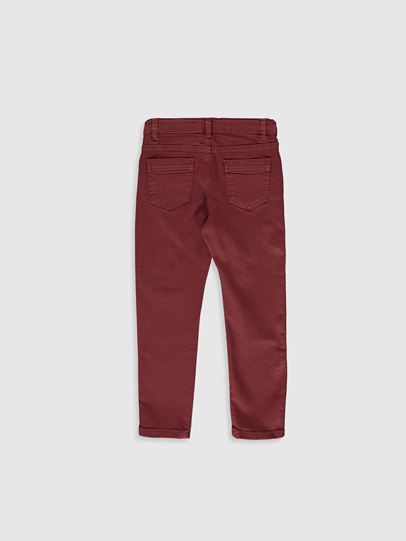 %98 Pamuk %2 Elastan Aksesuarsız Normal Bel Astarsız Dar Beş Cep Pantolon Düz Gabardin %100 Pamuk Orta Kalınlık Erkek Çocuk Super Slim Gabardin Pantolon