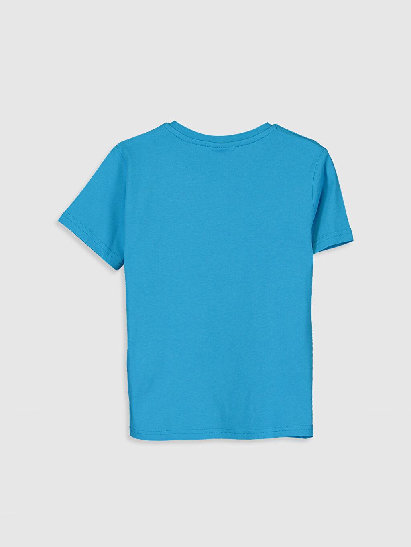 %100 Pamuk Bisiklet Yaka Kısa Kol Süprem Standart Baskılı Tişört Erkek Çocuk Yazı Baskılı Pamuklu Tişört