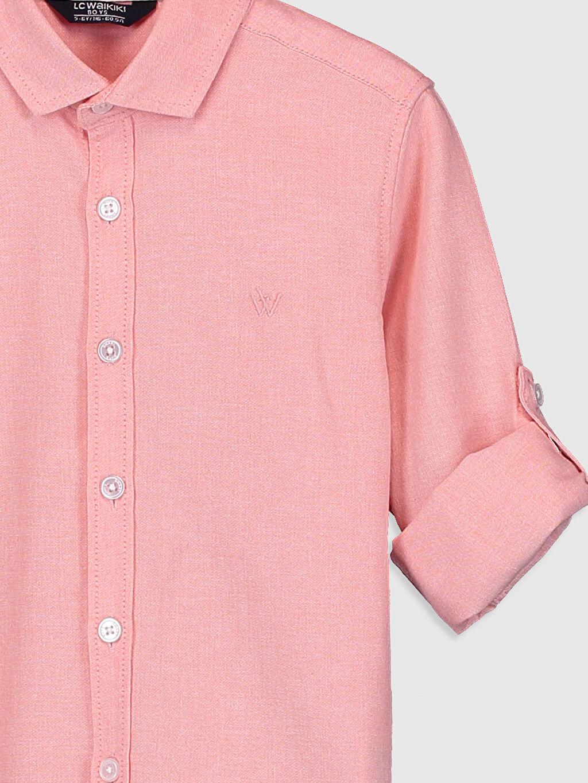 Erkek Çocuk Erkek Çocuk Uzun Kollu Oxford Gömlek