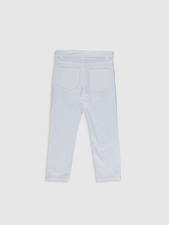 Erkek Çocuk Erkek Çocuk Slim Gabardin Pantolon