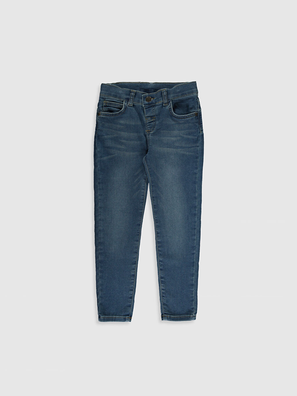 İndigo Erkek Çocuk Super Skinny Jean Pantolon 0S1750Z4 LC Waikiki
