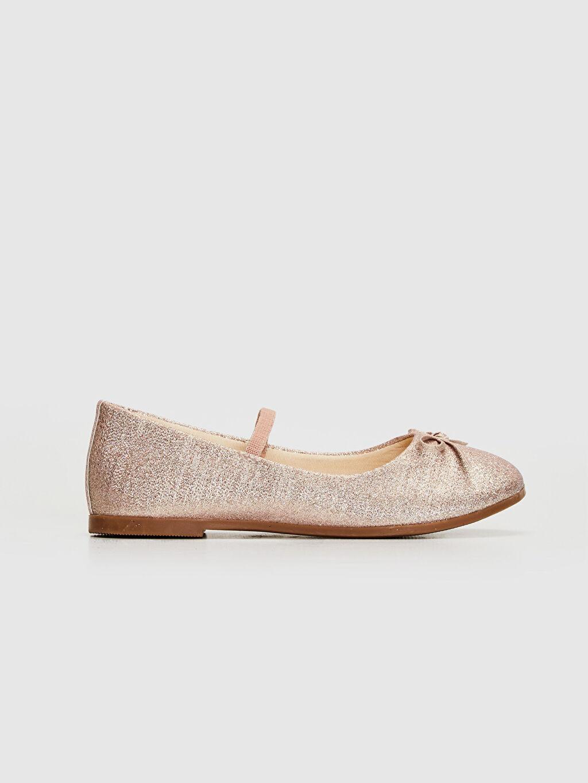 %0 Tekstil malzemeleri (%100 poliester) Işıksız Babet Lastik Polyester Astar Kız Çocuk 25-30 Numara Babet Ayakkabı