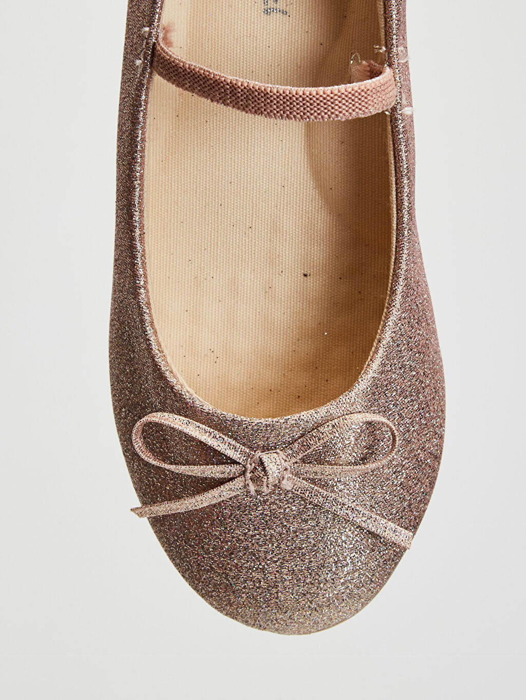 Pembe Kız Çocuk 25-30 Numara Babet Ayakkabı