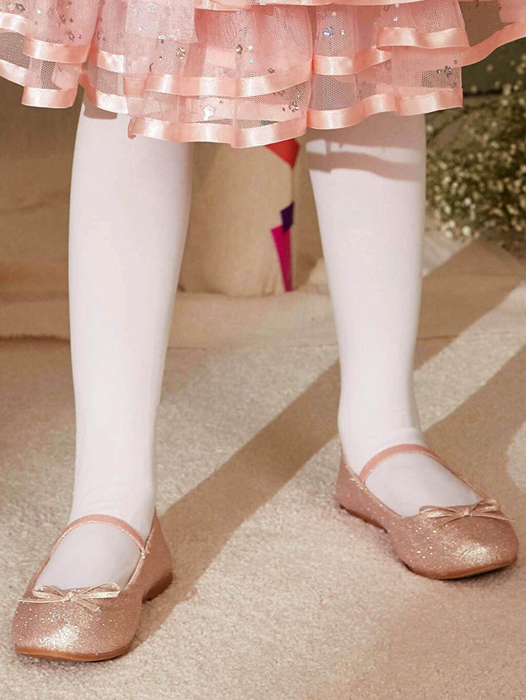 Pembe Kız Çocuk 31-36 Numara Babet Ayakkabı 0S2330Z4 LC Waikiki