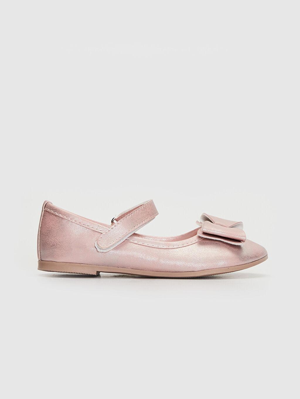 %0 Diğer malzeme (pvc) Işıksız Babet Polyester Astar Cırt Cırt Kız Çocuk 25-30 Numara Babet Ayakkabı