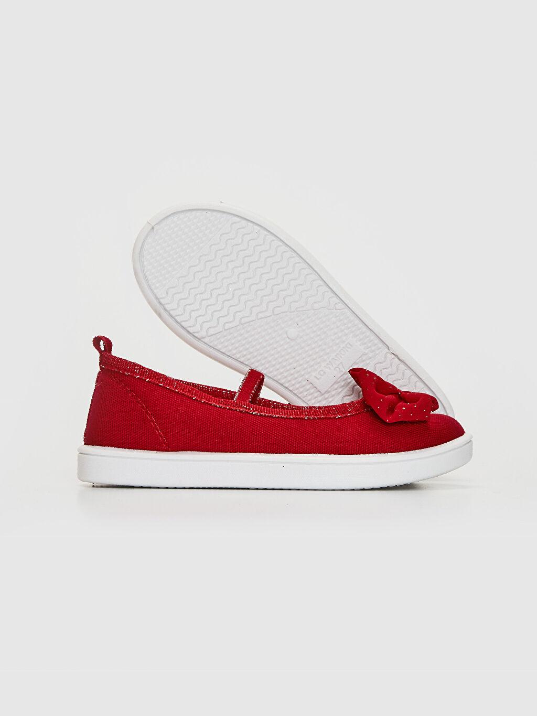 Kız Çocuk Kız Çocuk 30-35 Numara Bez Babet Ayakkabı