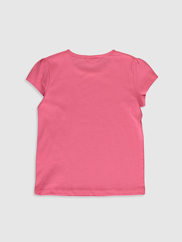 %100 Pamuk Düz Tişört Bisiklet Yaka Kısa Kol Standart Kız Çocuk Pamuklu Basic Tişört
