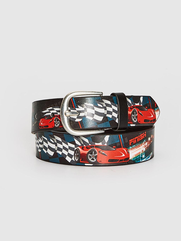 Kırmızı Erkek Çocuk Araba Baskılı Kemer 0S3584Z4 LC Waikiki