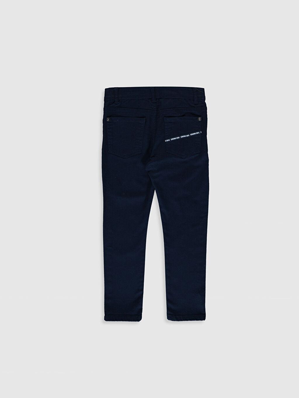 %98 Pamuk %2 Elastan Orta Kalınlık Pantolon Düz Gabardin Aksesuarsız Normal Bel Astarsız Dar Beş Cep %100 Pamuk Erkek Çocuk Super Slim Gabardin Pantolon