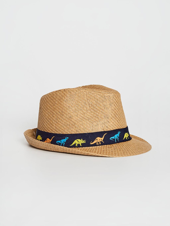 Bej Erkek Çocuk Fötr Şapka 0S4715Z4 LC Waikiki
