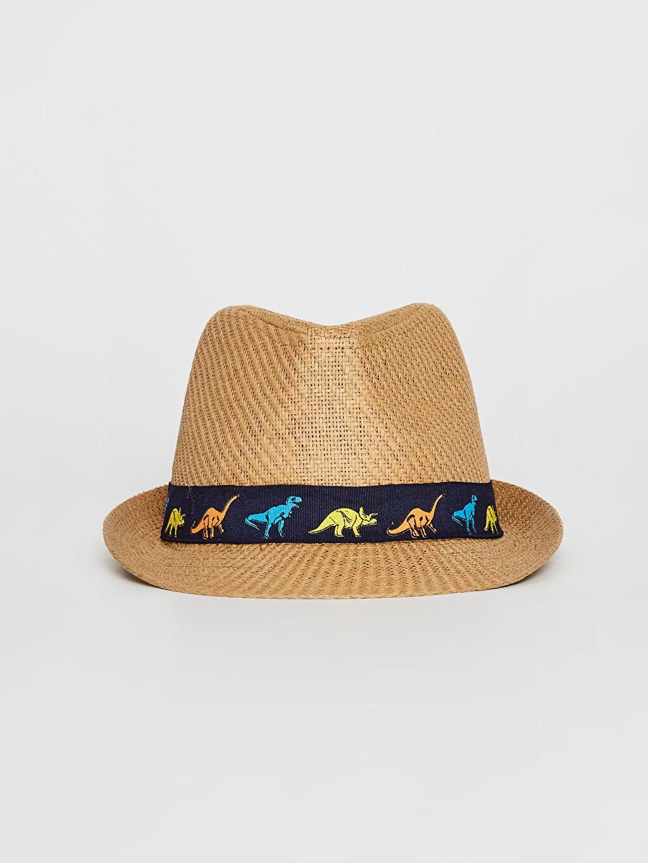 %100 Kağıt %100 Polyester Şapka Erkek Çocuk Fötr Şapka