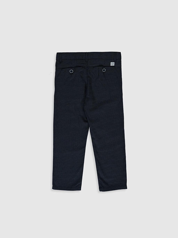 %100 Pamuk Aksesuarsız Düz Standart Normal Bel Astarsız Pantolon %100 Pamuk Orta Kalınlık Erkek Çocuk Armürlü Chino Pantolon