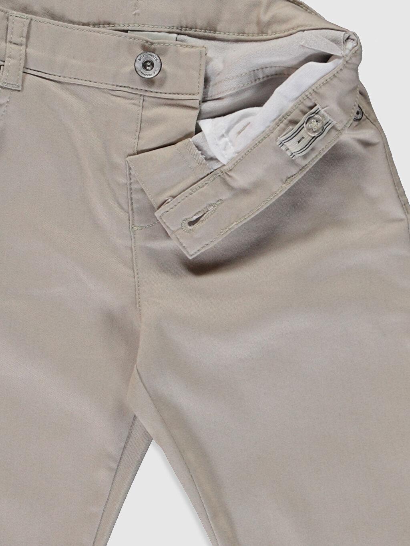Erkek Çocuk Erkek Çocuk Super Slim Gabardin Pantolon