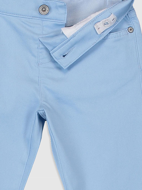 %66 Pamuk %30 Polyester %4 Elastan Erkek Çocuk Pantolon