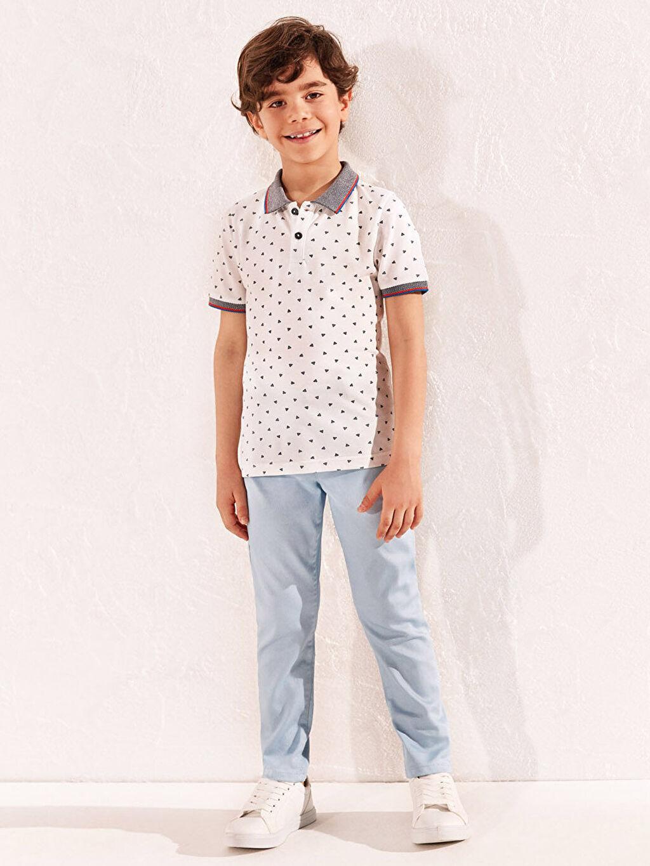 Mavi Erkek Çocuk Pantolon 0S4882Z4 LC Waikiki