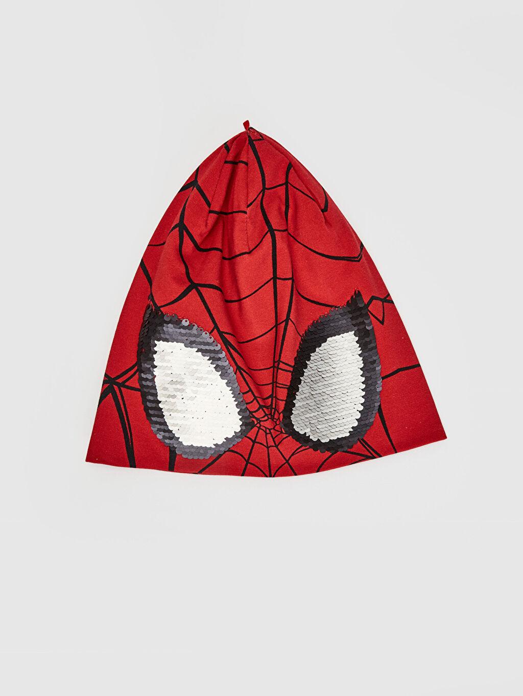 %96 Pamuk %4 Elastan %96 Pamuk %4 Elastan Spiderman Bere Erkek Çocuk Spiderman Lisanslı Triko Bere